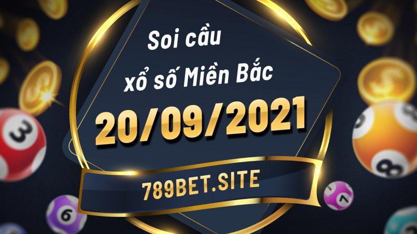 Soi cầu XSMB 20-09-2021 - Dự đoán xổ số Miền Bắc - Soi cầu MB
