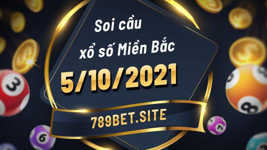 Soi cầu XSMB 5-10-2021 - Dự đoán xổ số Miền Bắc - Soi cầu MB