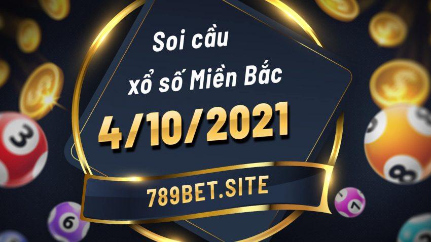 Soi cầu XSMB 4-10-2021 - Dự đoán xổ số Miền Bắc - Soi cầu MB