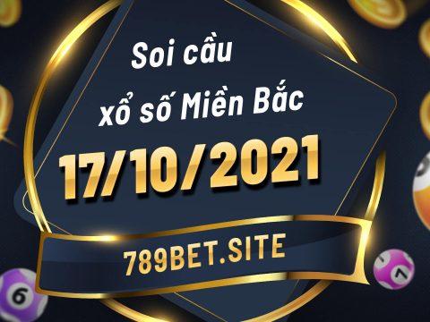 Soi cầu XSMB 17-10-2021 - Dự đoán xổ số Miền Bắc - Soi cầu MB