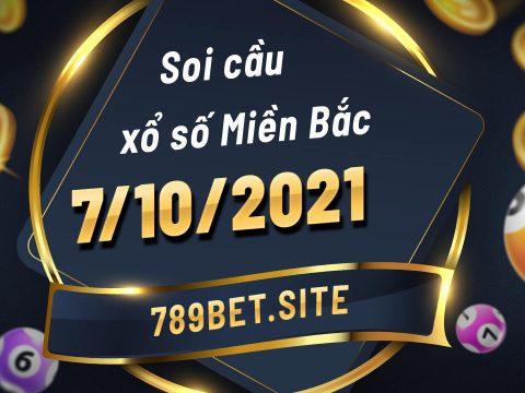 Soi cầu XSMB 7-10-2021 - Dự đoán xổ số Miền Bắc - Soi cầu MB